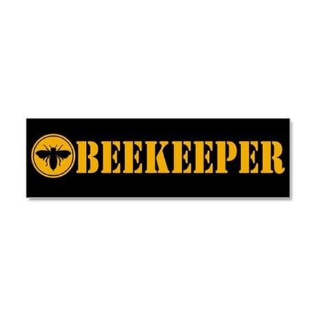 Beekeeper Decal