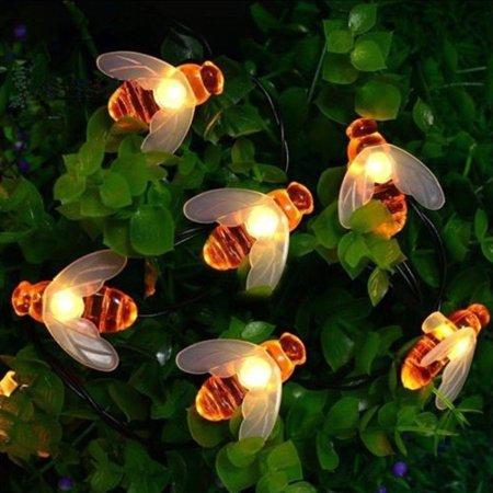 Honey Bee Lights - 24 ft. Length/50 Bee Lights