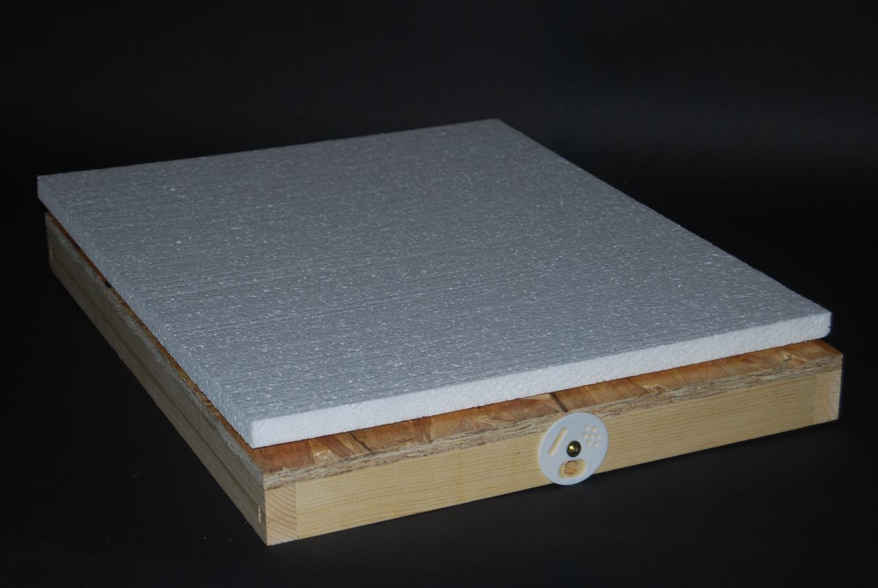 Winter Candy Board Feeder - Front