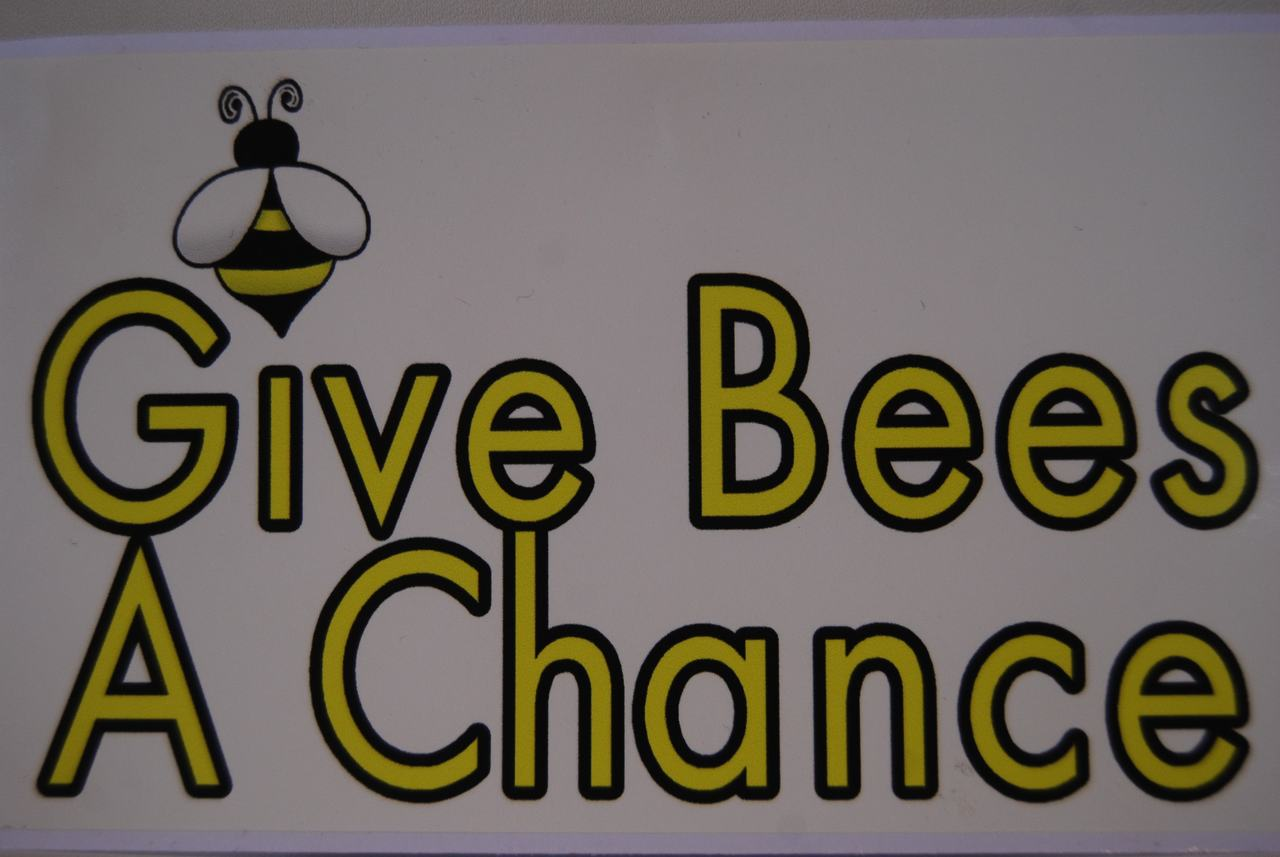 Give Bees A Chance Decal