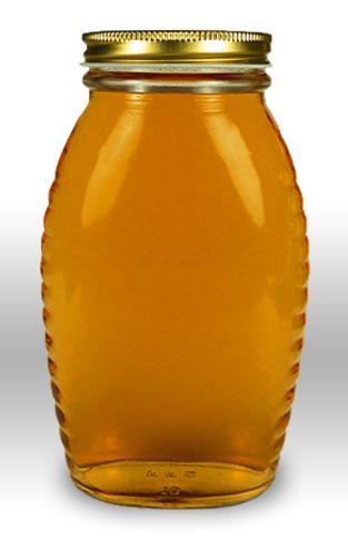 8 oz. Queenline Honey Jars with lids - 24 count