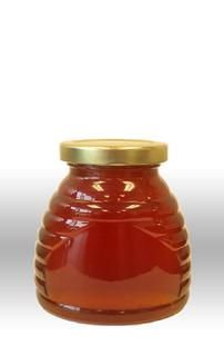 12 oz. Skep Glass Honey Jars with lids - 12 count