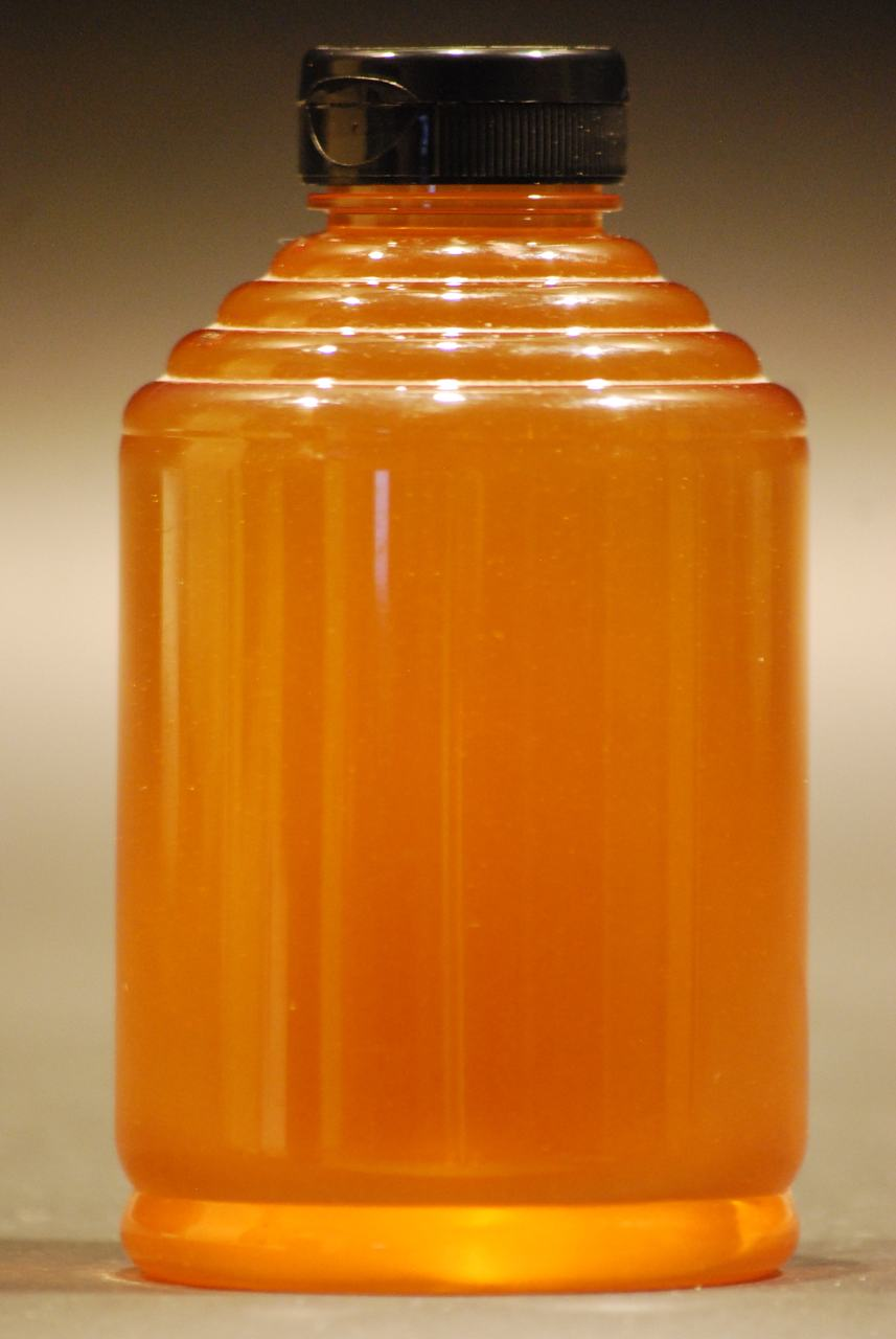 2 lb. clear plastic skep honey containers case of 216