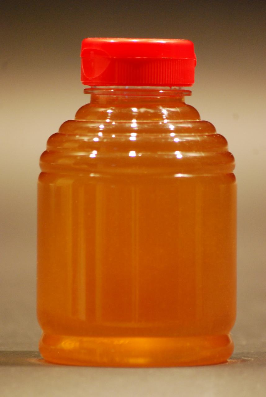 1 lb. clear plastic skep honey bottles - case of 420