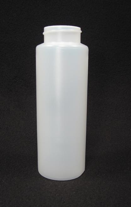 12 oz. Cylinder honey bottles - case of 350 with no lids