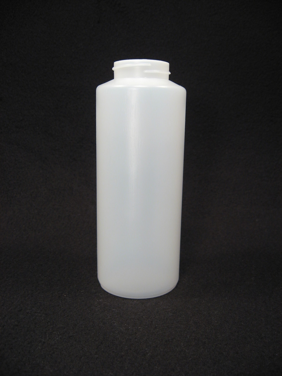 16 oz. Cylinder honey bottles - case of 300 with no lids