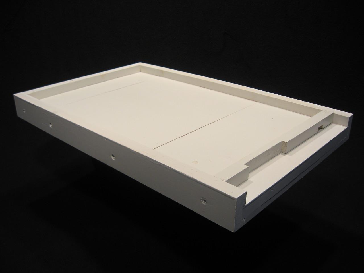 Assembled/Painted 8 frame lid, inner cover, bottom board combo