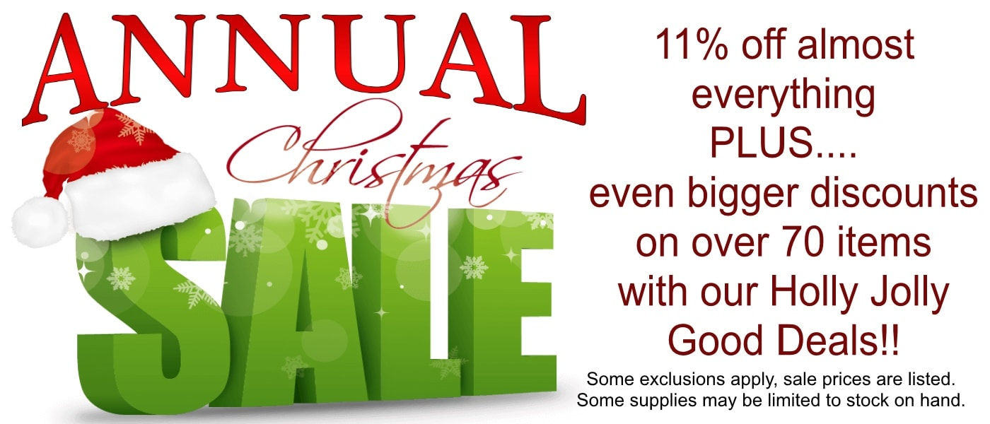 Annual Christmas Sale Lappe's Bee Supply
