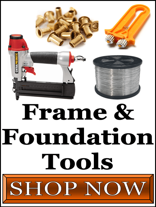 Bee Hive Frame and Foundation Tools and Hardware For Sale at Lappe's Bee Supply