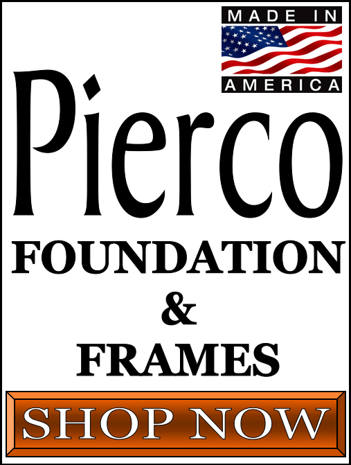 Pierco Bee Hive Frames and Foundations For Sale at Lappe's Bee Supply