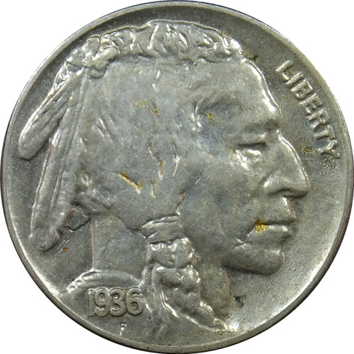 1936 Buffalo Nickel