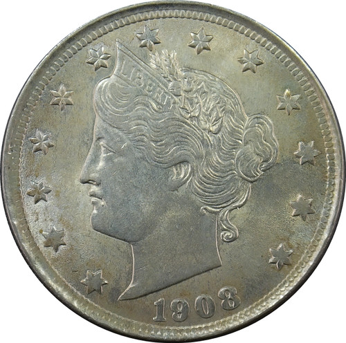 "1908 Liberty ""V"" Nickel"