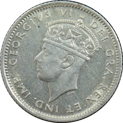 1941-C 10 Cents, New Foundland, KM#20, 92.5% Silver
