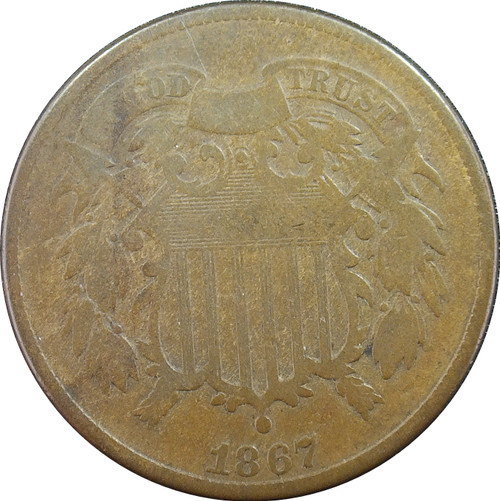 1867 Two Cent