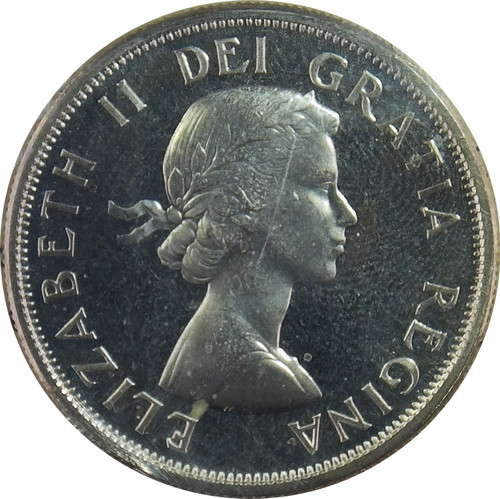 1964 50 Cents, Canada, Cameo Proof, ICCS Certified PL-66 - Number YY304