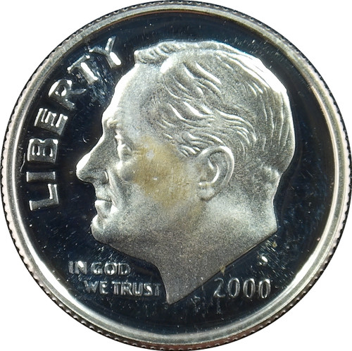 2000-S Roosevelt Dime Silver Proof