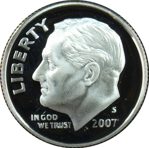 2007-S Roosevelt Dime Silver Proof
