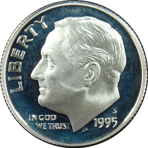 1995-S Rossevelt Dime Silver Proof