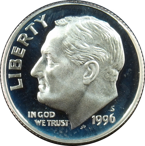 1996-S Rossevelt Dime Silver Proof