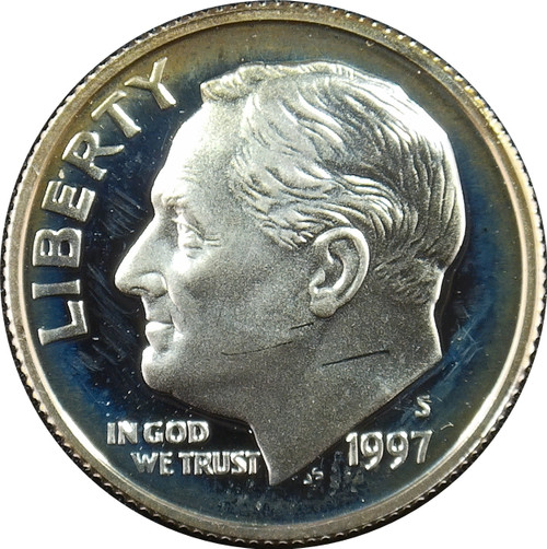 1997-S Roosevelt Dime Silver Proof