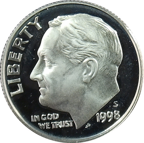 1998-S Roosevelt Dime Silver Proof