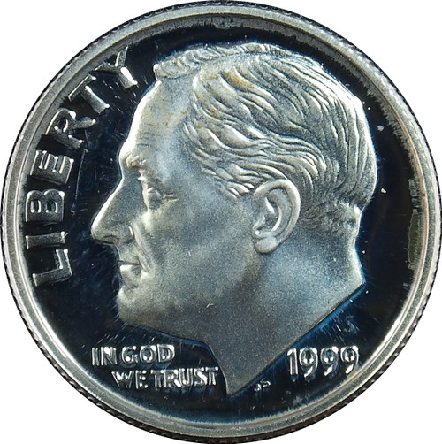 1999-S Roosevelt Dime Silver Proof