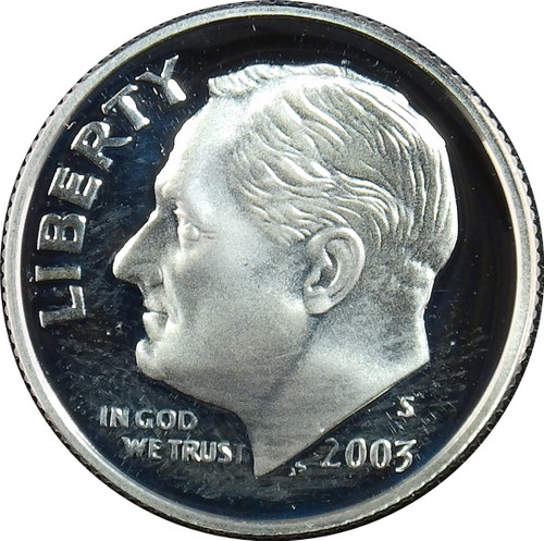 2003-S Roosevelt Dime Silver Proof