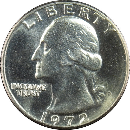 1972-D Washington Quarter