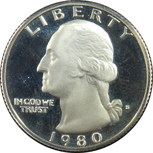 1980-S Washington Quarter Proof