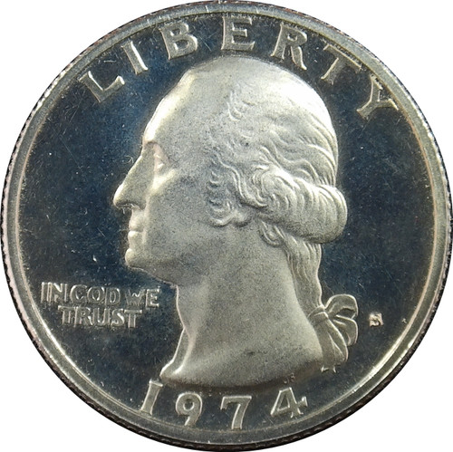 1974-S Washington Quarter Proof