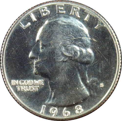 1968-S Washington Quarter