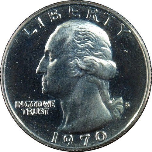 1970-S Washington Quarter Proof
