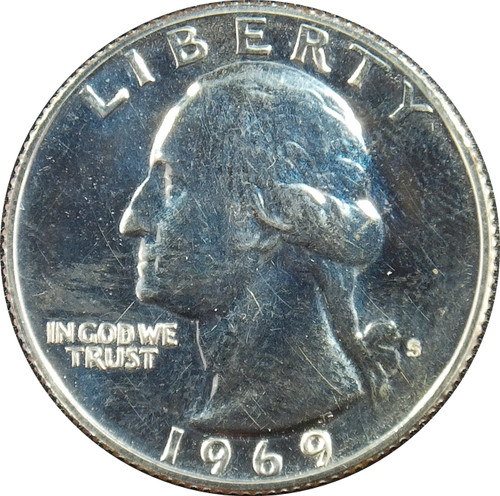 1969-S Washington Quarter