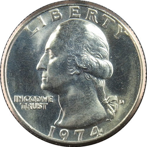 1974-D Washington Quarter