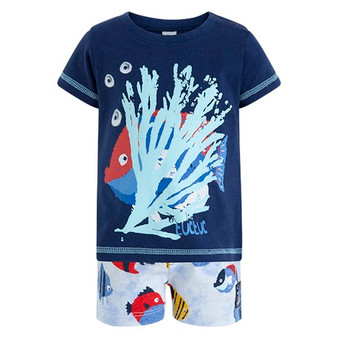 Trop Fish Short Set