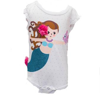 Mermaid Diaper Shirt