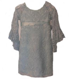 Sea Foam Lace Dress