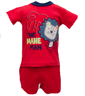 Mane Man 2pc Short Set 6M