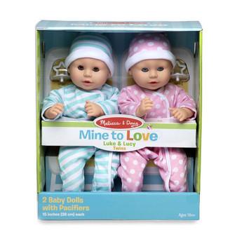 MD Luke & Lucy Twin Dolls