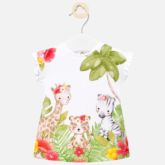 Safari Graphic dress