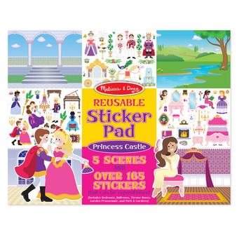 Prin Castle Reuse Stickers
