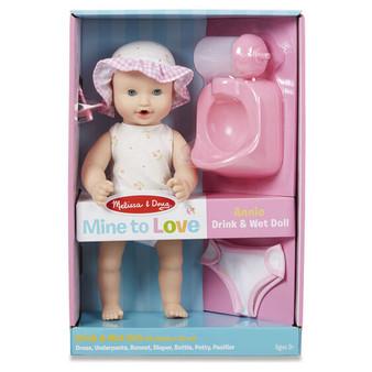 Annie 12 Drink & Wet Doll