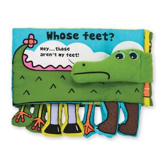 Whose Feet Cloth Book