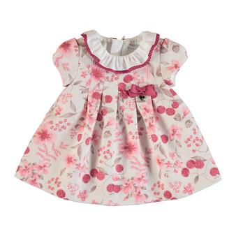 Cream Berry Dress