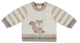 Cream Tan Squirrel Sweater