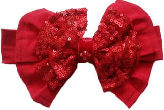 Ruby Red Elastic