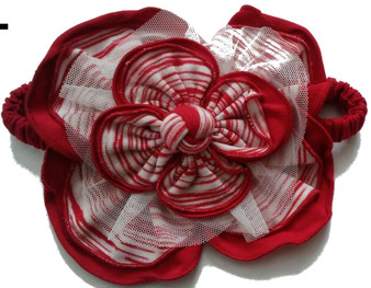 Peppermint Latte Elastic Headband