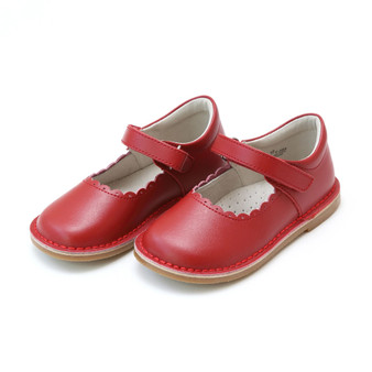 Caitlin Scallop MJ Red