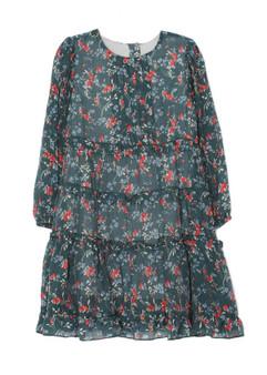 Teal Floral Maisie Dress