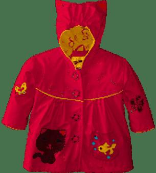 Lucky Cat Raincoat